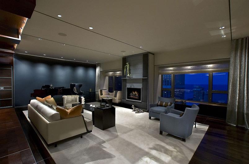 Watertower Condo: Interior Design Chicago, IL